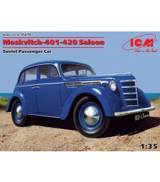 1:35 Moskvitch-401-420 Saloon, Soviet Passenger Car