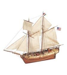 1:35 USS Independence - Wooden Model Ship Kit
