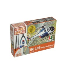 1:32 BO 105 Police Helicopter My first model kit