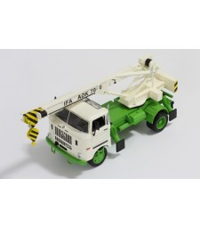 IFA W50L ADK70 1968 White and Green