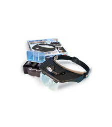 HANDS FREE GLASSES WITH MAGNIFIER WITH 2 LED