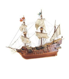 1:30 San Juan Galeon-XVI Century - Wooden Model Ship Kit