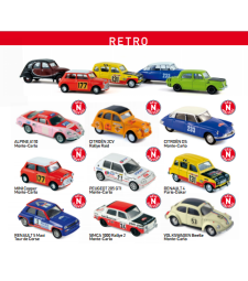 RACING RETRO CARS NOREV DIE-CAST - 1 бр.