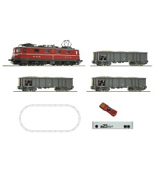 Digital starter set z21: Electric locomotive Ae 6/6 and goods train that carries beets, SBB, epoch IV-V