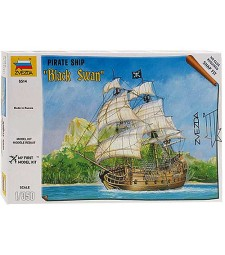 "1:350 Pirate ship ""Black Swan"""