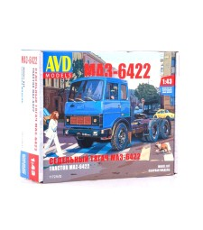 MAZ-6422 Tractor Truck (early version) - Die-cast Model Kit