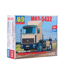MAZ-5432 Tractor Truck (later version) - Die-cast Model Kit