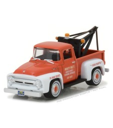1956 Ford F-100 with Drop-in Tow Hook Solid Pack - The Hobby Shop Series 1
