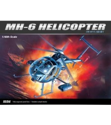 1:48 MH-6 STEALTH HELICOPTER