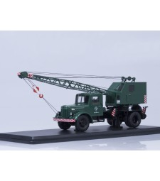 Truck crane K-51 (MAZ-200) with function /green/