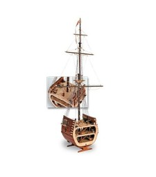 1:50 The Section of San Francisco - Wooden Model Ship Kit