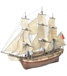 1:48 HMS Bounty - Wooden Model Ship Kit