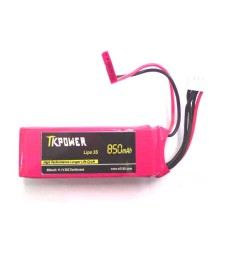 Lipo battery 11.1V 850mAh 3cell