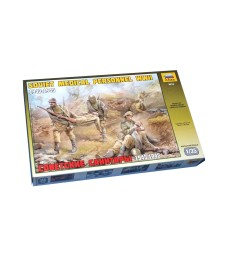 1:35 SOV.MEDICAL PERSONNEL WWII - 5 figures