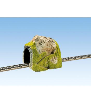 Straight Tunnel, Single Track, 25 x 19 cm
