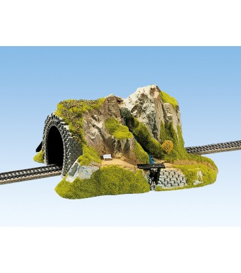 Straight Tunnel, Single Track, 34 x 27 cm