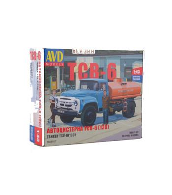 Tanker Truck TSV-6 (ZIL-130)  - Die-cast Model Kit