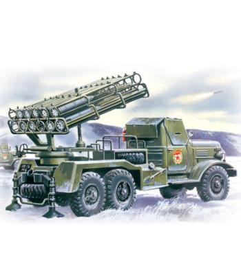 1:72 Multiple Launch Rocket System on ZiL-157 base BM-24-12