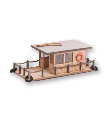 House Boat, 8x3,4cm 3cm high