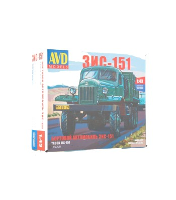 ZIS-151 flatbed truck - Die-cast Model Kit