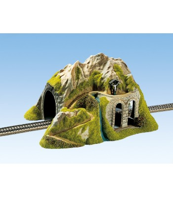 Tunnel single track, straight, 34 x 26 cm, 16 cm high