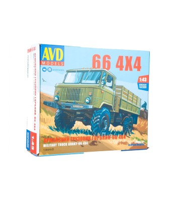 GAZ-66 4x4 flatbed truck - Die-cast Model Kit