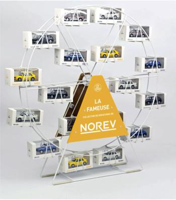 Roue blanche NOREV - Presentoir / Display / Aufsteller
