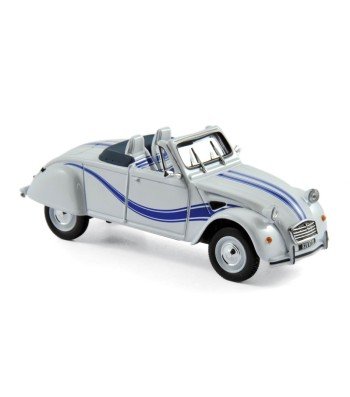 Citroën 2CV Cabriolet Azelle 1990 White with Blue Deco