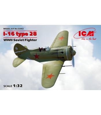 1:32 I-16 type 28, WWII Soviet Fighter