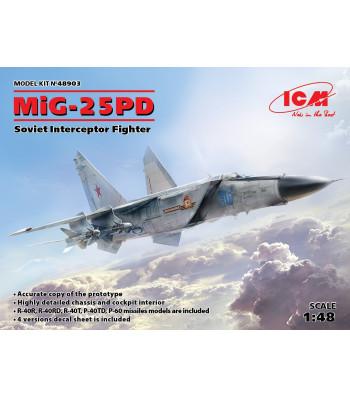 1:48 MiG-25 PD, Soviet Interceptor Fighter