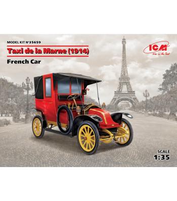1:35 Taxi de la Marne (1914), French Car (100% new molds)