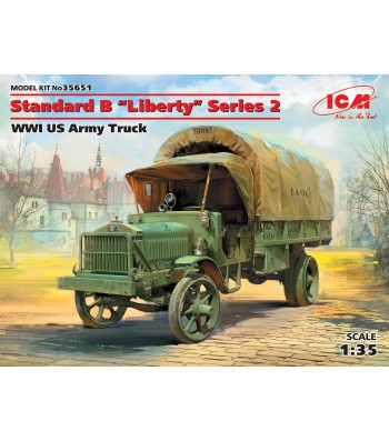 "1:35 Standard B ""Liberty"" Series 2, WWI US Army Truck"