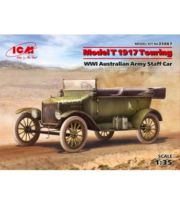 1:35 Model T 1917 Touring, WWI Australian Army Staff Car
