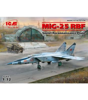 1:72 MiG-25 RBF, Soviet Reconnaissance Plane