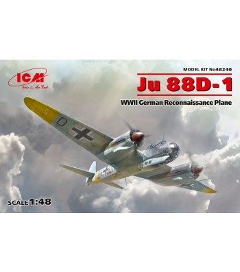 1:48 Ju 88D-1, WWII German Reconnaissance Plane