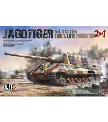 1:35 Sd.Kfz.186 Jagdtiger early/late production 2 in 1