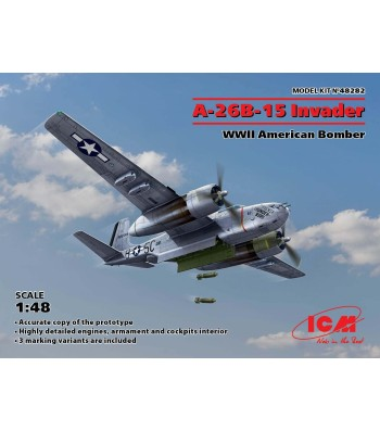 1:48 A-26B-15 Invader, WWII American Bomber