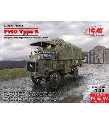 1:35 FWD Type B, WWI US Army Truck
