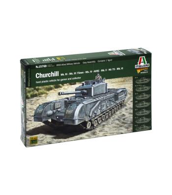1:56 CHURCHILL Mk.III/IV/AVRE/NA75