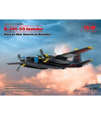 1:48 B-26С-50 Invader, Korean War American Bomber