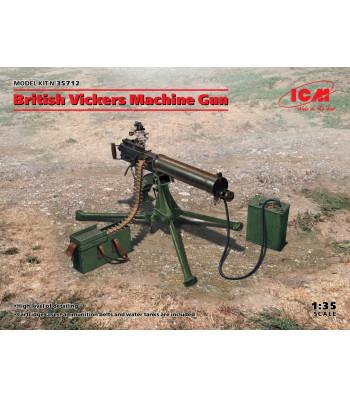 1:35 British Vickers Machine Gun (100% new molds)