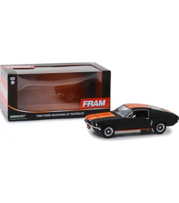 1968 Ford Mustang GT Fastback - FRAM Oil Filters - Black with Orange Stripes