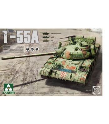 1:35 Rssian Medium Tank T-55 A [3 in 1]