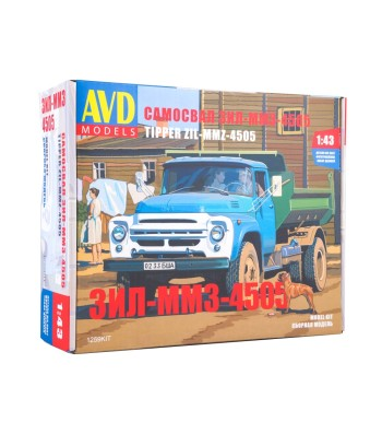 ZIL-4505 dump truck - Die-cast Model kit