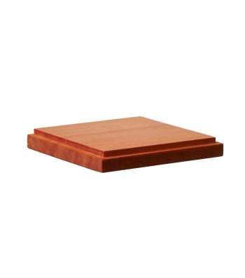 DB-001 Wooden Base Square S 70 x 70 x H10 mm / top 65 x 65 mm