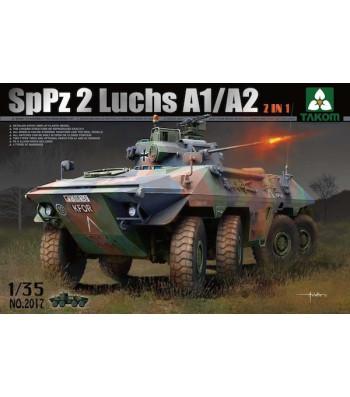 1:35 Bundeswehr SpPz 2 Luchs A1/A2  2 in 1