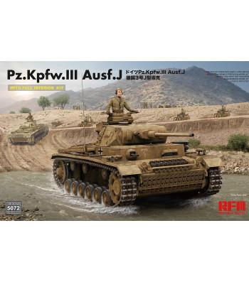 1:35 Pz. Kpfw. III Ausf. J w/full interior