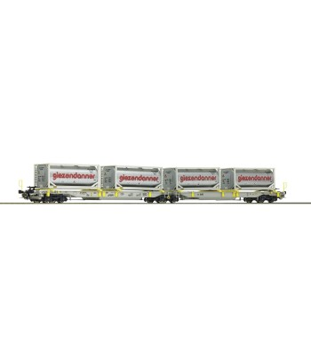 Articulated double pocket wagon, AAE, epoch VI