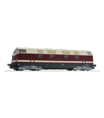 Diesel locomotive 118 552-9, DR, epoch IV