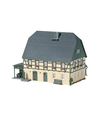 Large farmhouse with barn and shed  H0